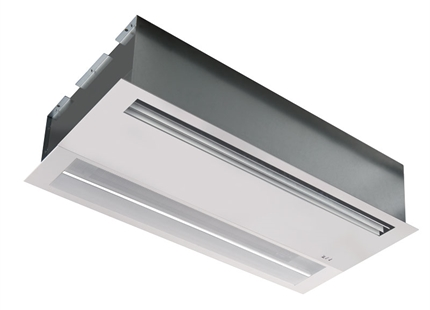 JS Launches Finesse Recessed Air Curtain