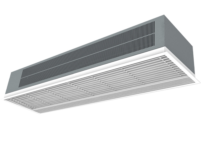 Optima Recessed air curtain