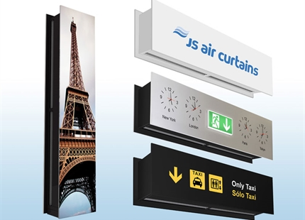 Air curtains by design