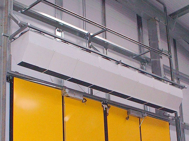 VCP industrial air curtain